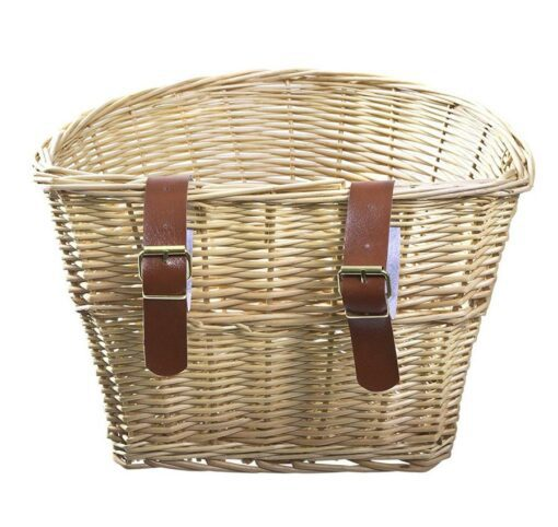 Handlebar Mount Woven Basket